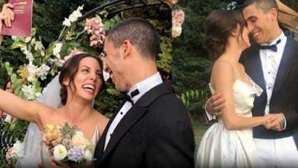 Can Bonomo ve Öykü Karayel çifti evlendi!