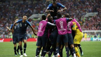 20 yıl aradan sonra Fransa en büyük!