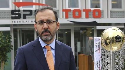 Gençlik ve Spor Bakanı Mehmet Muharrem Kasapoğlu kimdir? Aslen nerelidir?