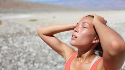 Güneş çarpmasına karşı alınması gereken önlemler nelerdir?
