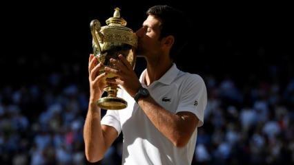 Wimbledon'da şampiyon Djokovic oldu!