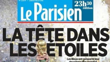 Fransa basınında zafer başlıkları!