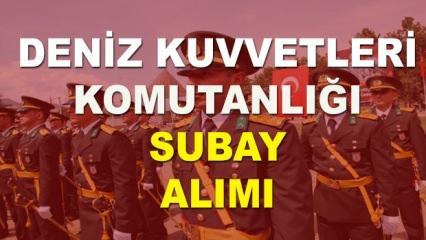 Deniz Kuvvetleri Komutanlığı Muvazzaf Subay alımı sona eriyor! Şartlar neler?