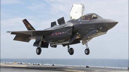 İlginç olay! F-35 pilotu hortumu tutturamadı