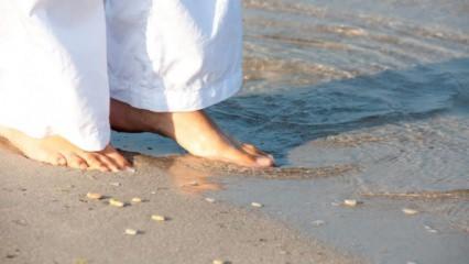 Deniz kumunun bilinmeyen faydaları