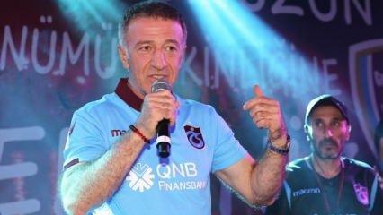 'Dünya 5'ten, Trabzonspor 3'ten büyüktür'