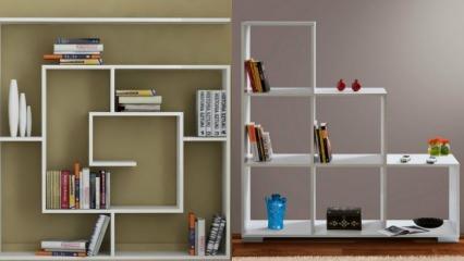 Evde dekoratif kitaplık yapımı