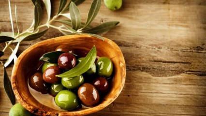 Zeytinin faydaları nelerdir? Günde 3 zeytin çekirdeği yutmak ne işe yarar?