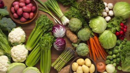 Kilo verdiren sebzeler hangileridir?