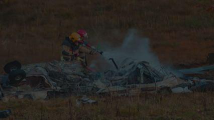 Rusya'da helikopter düştü: 18 ölü