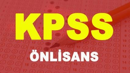 2018 KPSS Önlisans başvuru için son gün! ÖSYM başvuru işlemleri...