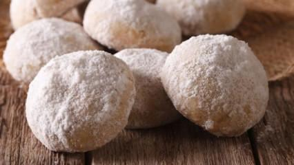 3 malzemeli kolay kurabiye tarifi