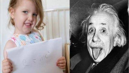 Dünya bu kızı konuşuyor! Ophelia, Einstein'ı solladı...
