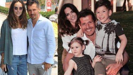 Emre Belözoğlu ailesiyle beraber tekne tatilinde