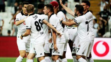 Beşiktaş evinde avantajı kaptı!