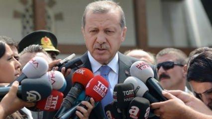 Erdoğan'dan dolar açıklaması!