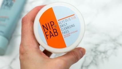 Nip + Fab Glycolic Fix Yüz Pedi ürün incelemesi