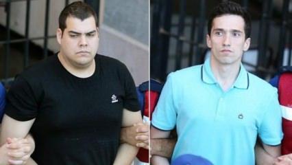 2 Yunan askeri serbest bırakıldı
