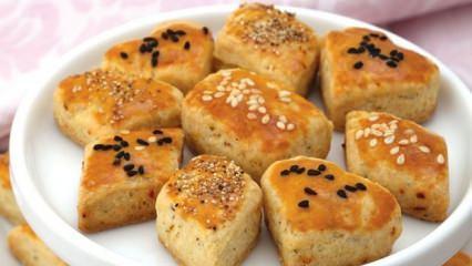Ağızda dağılan tuzlu kurabiye tarifi