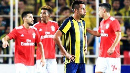 Benfica'yı geçemedik! Rota: Avrupa Ligi