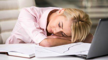 Kronik yorgunluğa iyi gelen doğal yöntem