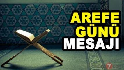 Kurban Bayramı Arefe Günü mesajları (resimli) 20 Ağustos...