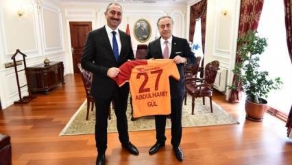 Mustafa Cengiz'den Bakan Gül'e ziyaret