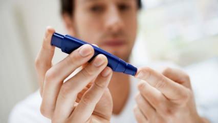 Şeker hastalığı belirtileri nedir? Yükselen şekeri düşüren doğal karışım!