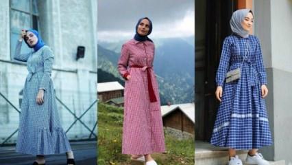 Sezonun trendi Pötikareli elbiseler