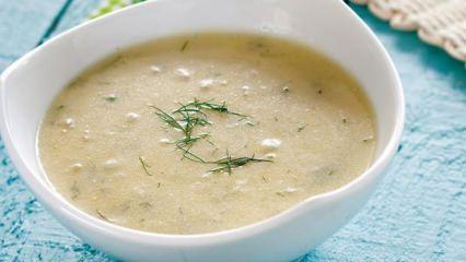 Zencefilli kabak çorbası tarifi