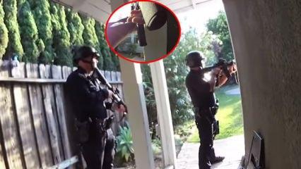 İntihar eden Honeycutt polisle böyle çatışmış