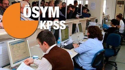 2018 KPSS başvuru tercihleri başladı mı? Memur olmak isteyen adaylar...
