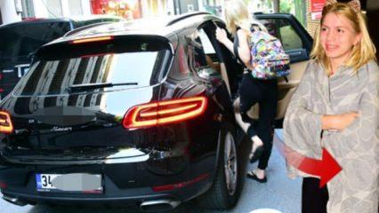 Aleyna Tilki'nin spor arabasının fiyatı dudak uçuklattı!