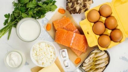 D vitamini nedir ve hangi besinlerde bulunur?