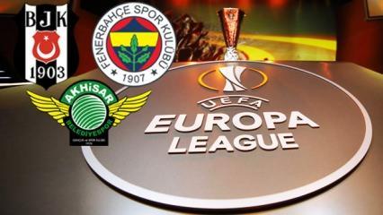 Avrupa Ligi maçlarının kanalı belli oldu!