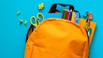 Okul çantası seçiminde dikkat edilmesi gerekenler