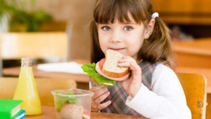 Çocuklar için sağlıklı beslenme çantası nasıl hazırlanılır?