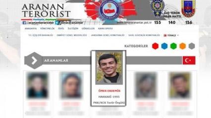 PKK'ya yeni darbe! Listeden bir kişi daha gitti!