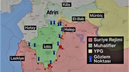Rusya savaş uçaklarının saldırı gerçekleştirdiği İdlib nerede? Yeri...