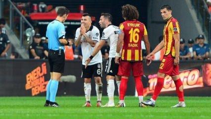 Beşiktaş'ta şok! Yıldız isim F.Bahçe maçında yok