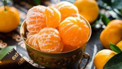 Bir hafta boyunca mandalina yerseniz ne olur?