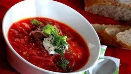 Bors Çorbası tarifi