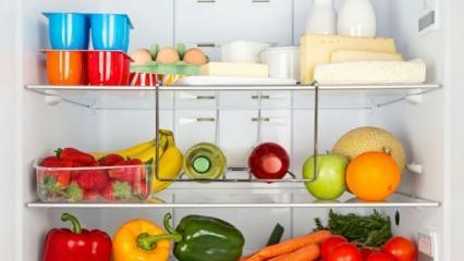 Buzdolabına konulduğunda hastalığa neden olabilecek besinler