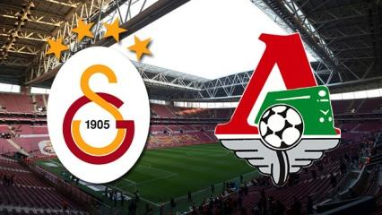 Galatasaray - Lokomotiv Moskova maçı hangi kanalda? Ne zaman, saat kaçta..
