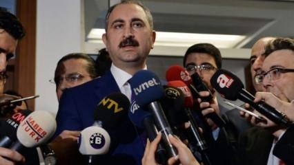Adalet Bakanı'ndan 'Enis Berberoğlu' açıklaması!