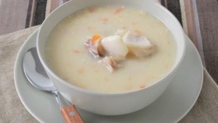 Leziz balık çorbası tarifi
