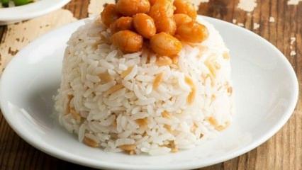 Tane tane pirinç pilavı nasıl yapılır?