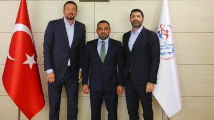 Türkoğlu'dan Hamza Yerlikaya'ya ziyaret