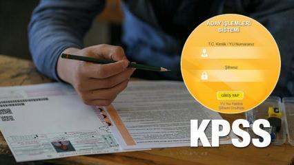 07 Ekim KPSS ortaöğretim lise soru ve cevap kitapçıkları!