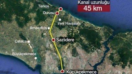 Kanal İstanbul'da önemli gelişme! Sona gelindi